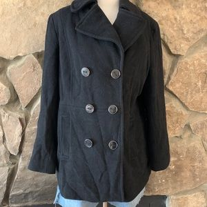 "Classic Kenneth Cole ""Reaction"" Pea Coat"